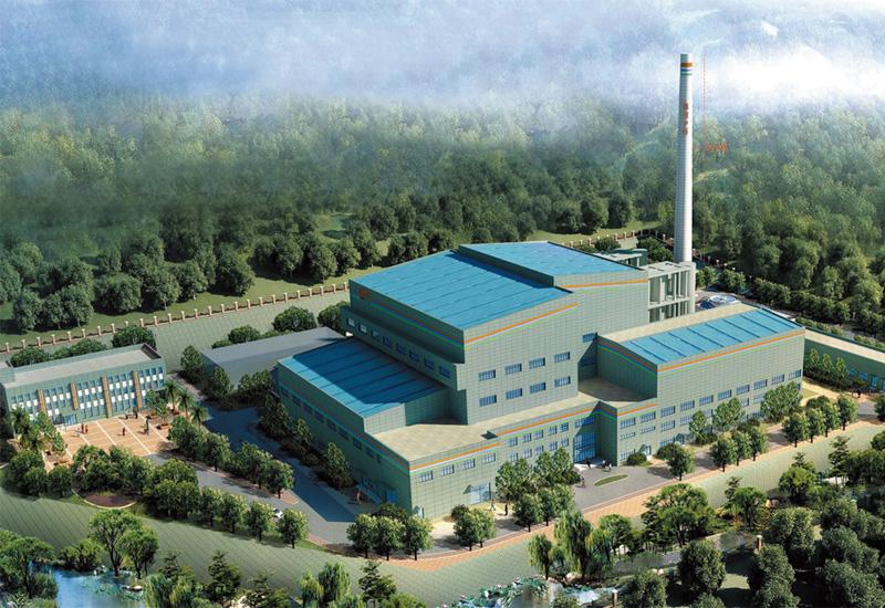 Jinzhou municipal solid waste and sludge incineration power generation